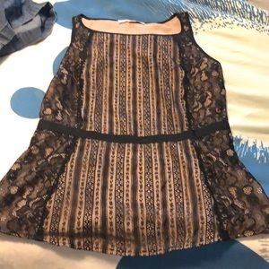 Lift lace tank top new